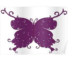 Abstract Fantasy Butterfly 10 Poster