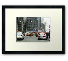 Stop Police Framed Print
