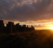 Slains Castle by Mark Thomson