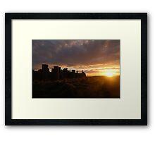 Slains Castle Framed Print
