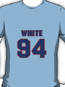National football player Alberto White jersey 94 T-Shirt
