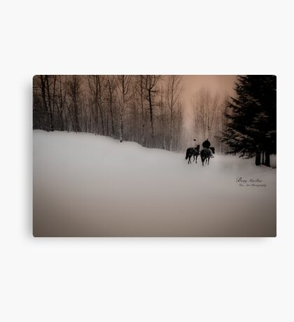 Father Daughter Moment Canvas Print