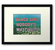 dance Framed Print