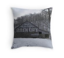 See Rock City on Hwy 64 Throw Pillow