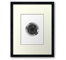 Key to your Robotic Heart Framed Print