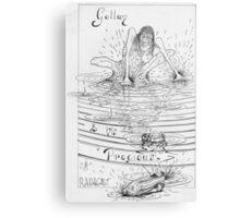 """Gollum"" Metal Print"