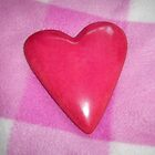 Pink Heart One by Yvonne Carsley