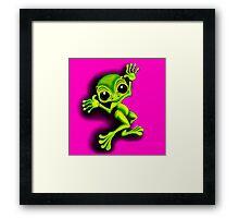 Ta Da Frog  Framed Print