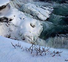 Iced Gullfoss #1 by Stefán Kristinsson