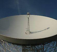 Lovell Telescope at Jodrell Bank by bubblebat