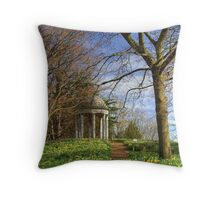 Temple of Aeolus Throw Pillow