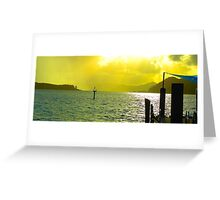 Daydreaming - Daydream Island, The Whitsundays Queensland Australia Greeting Card