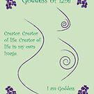 Goddess of Life by Patricia Bolgosano