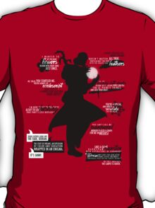 Dragon Age - Dorian Quotes T-Shirt