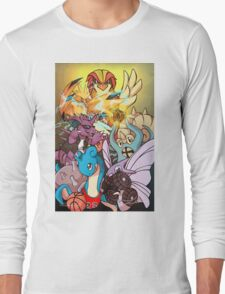 Twitch Plays Pokemon Long Sleeve T-Shirt