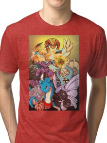 Twitch Plays Pokemon Tri-blend T-Shirt