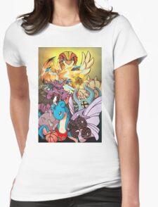 Twitch Plays Pokemon Womens Fitted T-Shirt