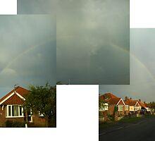 Rainbow in Caister-on-sea by Laura Kelk