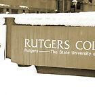 Rutgers College by Oksana Fox