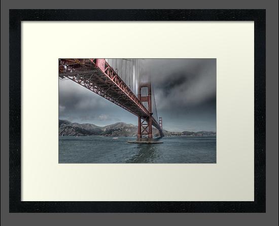 Golden Gate Bridge (Landscape) by Kimberly Palmer