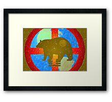 Earth Medicine-Brown Bear (Harvesting Time) Framed Print