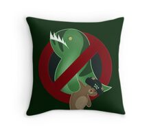 Leviathans Need Not Apply Throw Pillow
