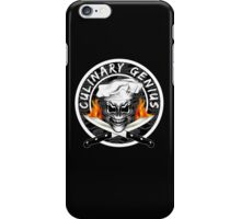 Skull Chef 1: Culinary Genius 2 iPhone Case/Skin