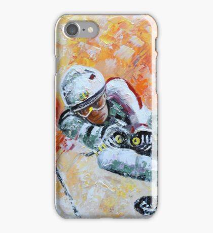 Skiing 07 iPhone Case/Skin