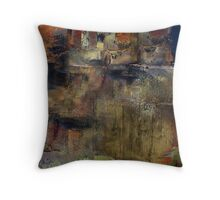 Perched on the Mountain Throw Pillow