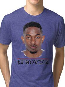 Kendrick Lamar - Cartoon Tri-blend T-Shirt