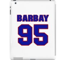 National football player Roland Barbay jersey 95 iPad Case/Skin
