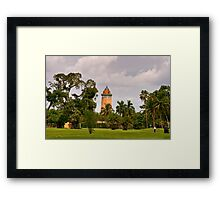 Water Tower Framed Print