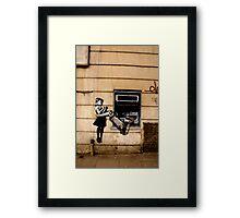 ATM - Banksy Framed Print