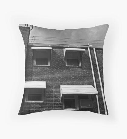 row home 1 Throw Pillow