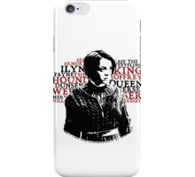 Arya's list iPhone Case/Skin