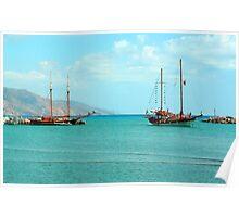 Kardamaina Harbour Poster