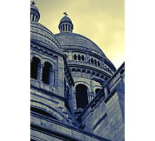 Sacre Coeur IV gradient map Photographic Print