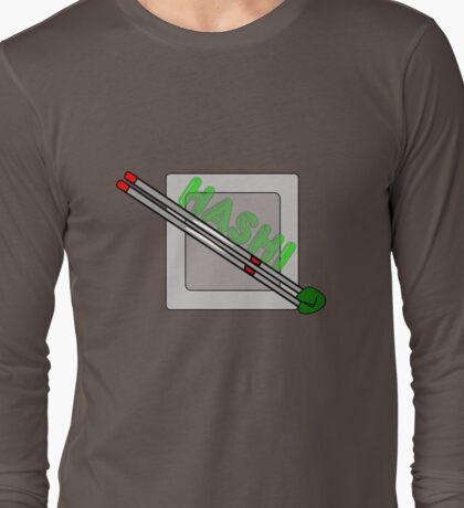 HASHI CHOPSTICKS Long Sleeve T-Shirt