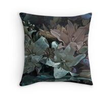 A Mid-Winter Nights Lily Throw Pillow