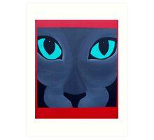 Cat Eyes! Art Print