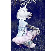 Fancy unicorn Photographic Print