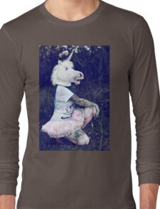 Fancy unicorn Long Sleeve T-Shirt