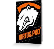 Virtus Pro Greeting Card
