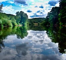 Reflections on the Wye by MichelleRees