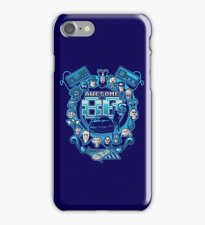 Awesome 80s iPhone Case/Skin
