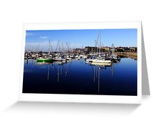 Bangor Marina Greeting Card