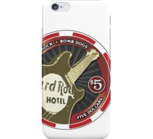poker chip iPhone Case/Skin