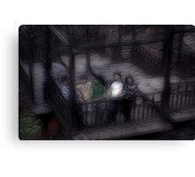 Ghost Children Canvas Print