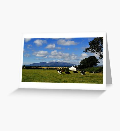 Mourne Country View Greeting Card
