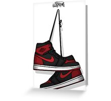 AIR JORDAN 1 RETRO HIGH OG Greeting Card
